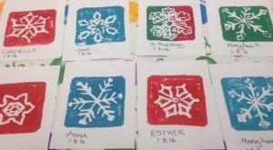 Snowflakes I