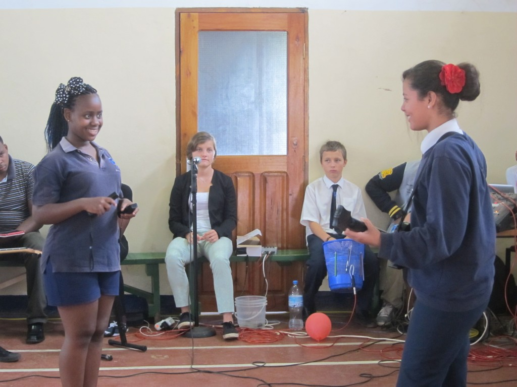 music and tech workshop 1 - Tanzania