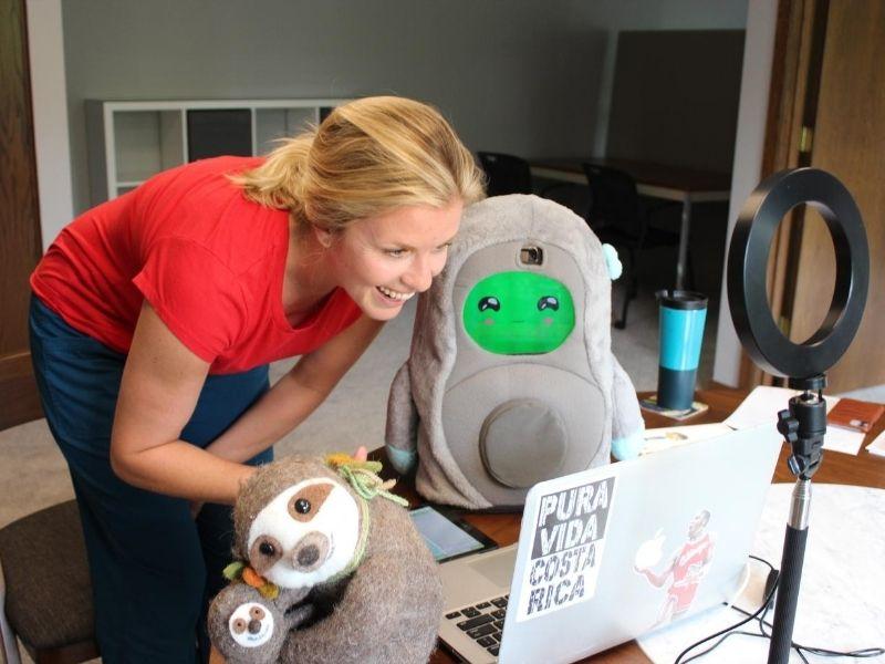 PEERbots Social Robotics Fine Art Miracles