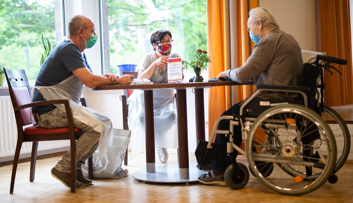 Nursing Home vist during Covid-19